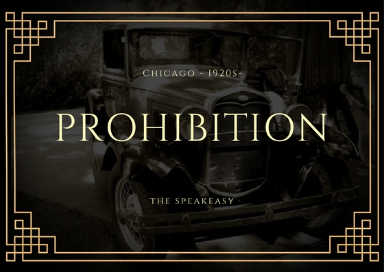 Prohibition 1920 the Speakeasy